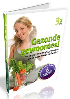 Gezonde Gewoontes - 3 DVD&#039;s - Voeding, Training, Motivatie