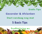 5 Tips voor Gezonder worden en Afslanken - EcoBioLiving